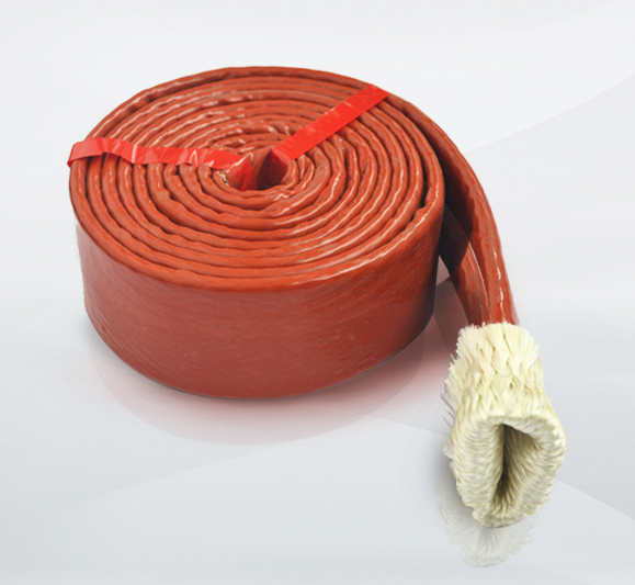 3//4/'/' Silicone Coated Fibreglass Fire Sleeving Protective Heat Shield Sleeve 3m